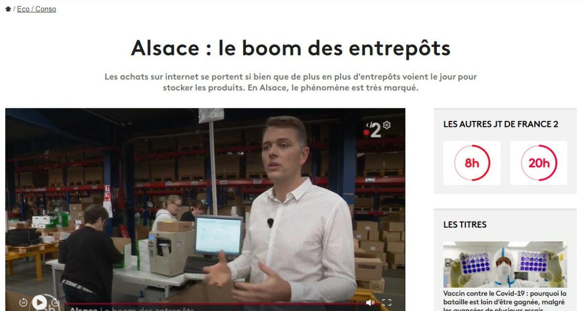 Euroservices Partner dans le journal de France 2