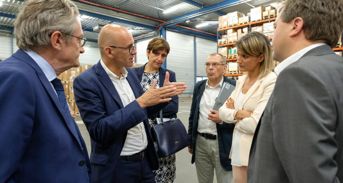 Rencontre avec Frédéric Bierry, Président du Conseil départemental du Bas-Rhin