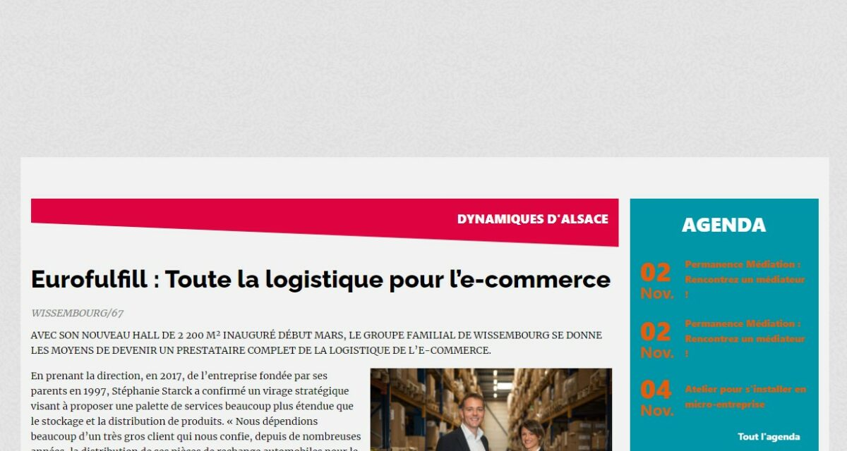 Article Point Eco Alsace
